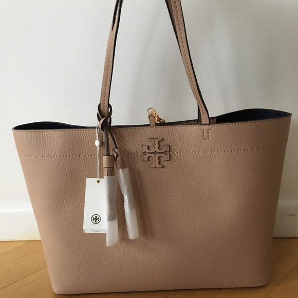 McGraw tote bag - Brown Tory Burch